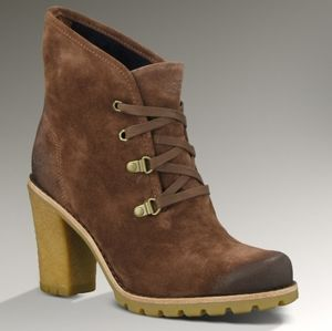 UGG Australia Calynda Suede Ankle Boots